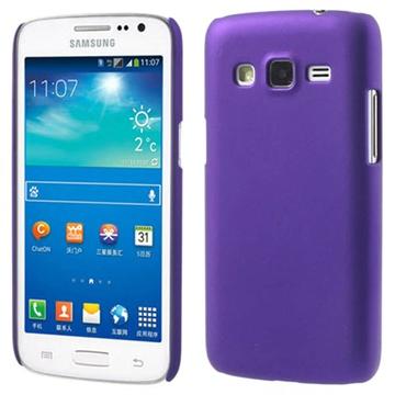 Samsung Galaxy Win Pro G3812 Gummiert Deksel - Lilla
