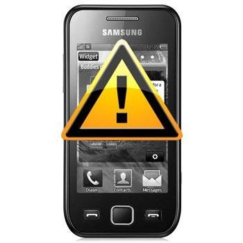 Samsung S5250 Wave 2 Reparasjon av SIM-kort Leser