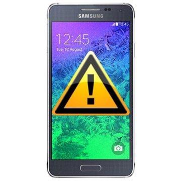 Samsung Galaxy Alpha Reparasjon av SIM-kort Leser