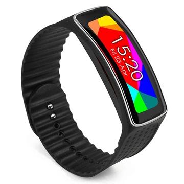 Samsung Galaxy Gear Fit Tuff-luv Armband - Svart