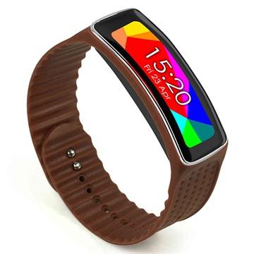 Samsung Galaxy Gear Fit Tuff-luv Armband - Brun