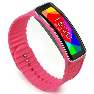 Samsung Galaxy Gear Fit Tuff-luv Armband - Rosa