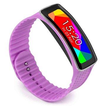 Samsung Galaxy Gear Fit Tuff-luv Armband - Lilla