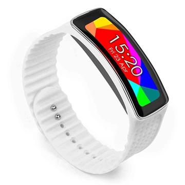 Samsung Galaxy Gear Fit Tuff-luv Armband - Hvit