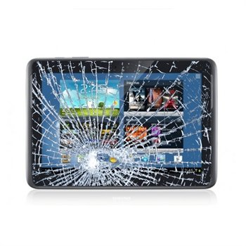 Reparasjon av Samsung Galaxy Note 10.1 N8000 Berøringsskjerm - Svart