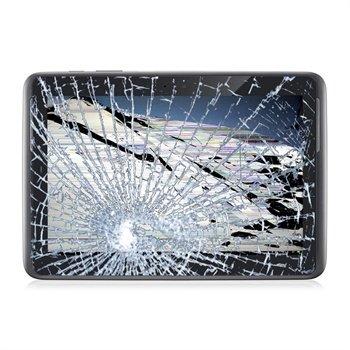 Reparasjon av Samsung Galaxy Note 10.1 N8000 LCD-display og Touch Glass - Grå