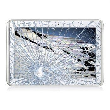 Reparasjon av Samsung Galaxy Note 10.1 N8000 LCD-display og Touch Glass - Hvit
