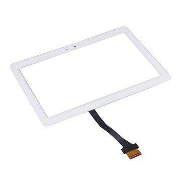 Samsung Galaxy Note 10.1 N8000, N8010, Galaxy Tab 2 P5100 Display Glass & Touch Screen - Hvit
