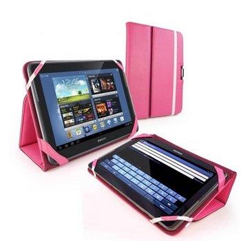Samsung Galaxy Note 10.1 Tuff-Luv Type-View Læretui - Rosa