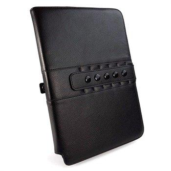Samsung Galaxy Note 10.1 N8000 Tuff-Luv Multivisnings Lærveske - Svart