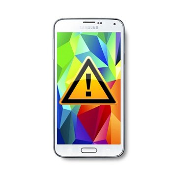 Samsung Galaxy S5 Reparasjon av SIM-kort Leser