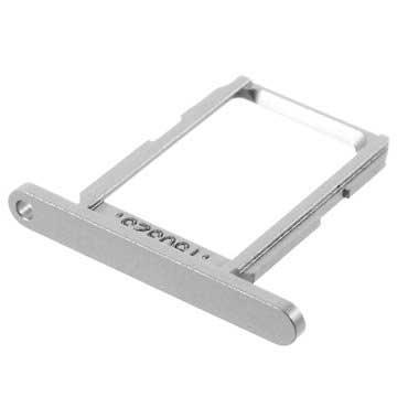 Samsung Galaxy S6 SIM-kort Skuffe - Sølv