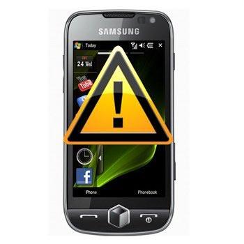 Reparasjon av Samsung I8000 Omnia II Mikrofon