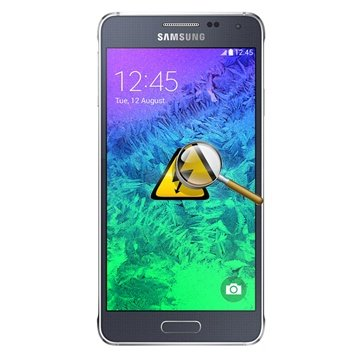 Samsung Galaxy Alpha Diagnose