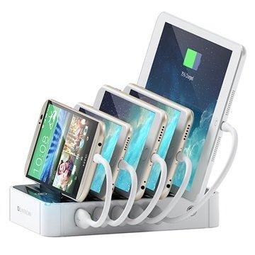 Satechi 5-Port USB Dockingstasjon - Hvit