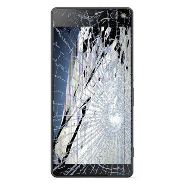 Reparasjon av Sony Xperia C5 Ultra LCD-display & Berøringsskjerm - Svart