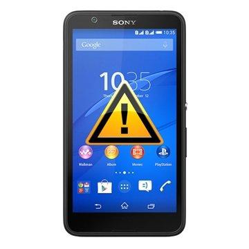 Sony Xperia E4 Dual Reparasjon av SIM-kort Leser