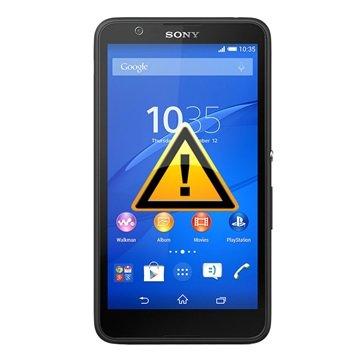 Sony Xperia E4 Reparasjon av SIM-kort Leser