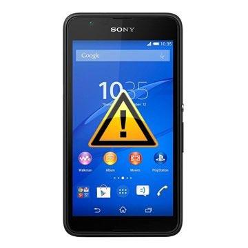 Sony Xperia E4g Reparasjon av SIM-kort Leser