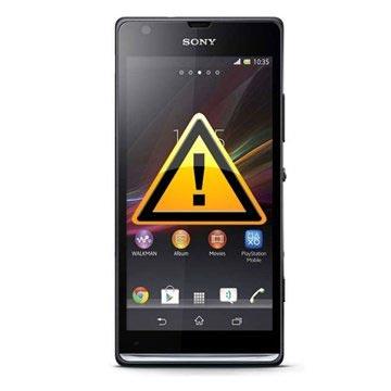 Sony Xperia SP Reparasjon av SIM-kort Leser