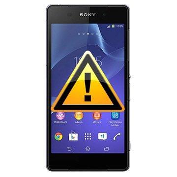 Sony Xperia Z2 Reparasjon av SIM-kort Leser