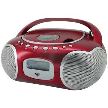 Soundmaster SCD4200 Stereo DAB+/FM PLL Radio - Rød
