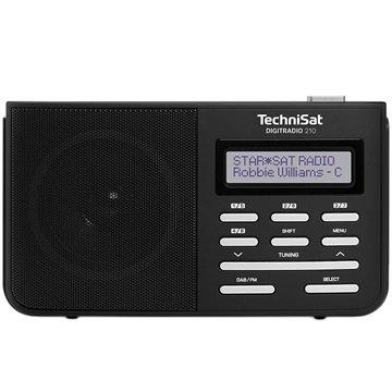 TechniSat DigitRadio 210 DAB/DAB+ Radio - Svart / Sølv