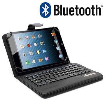 Universal Nettbrett Bluetooth-Tastatur & L�rveske 7-8 - Svart
