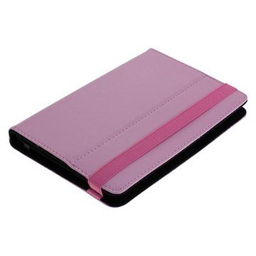 Universal Tablet Book Style L�rveske - 7 - Rosa