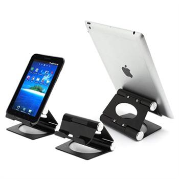 Universal Pivot Aluminum Tablet Holder - Svart