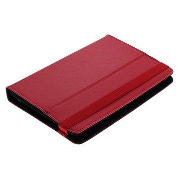 Universal Tablet Book Style L�rveske - 7 - R�d