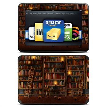 Amazon Kindle Fire HD 8.9 Library Skin