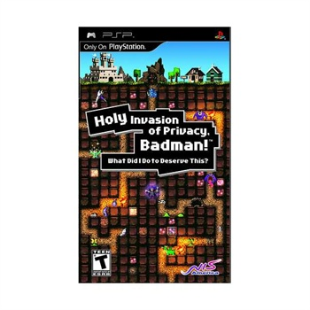 Holy Invasion of Privacy Badman! - PSP