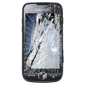 Reparasjon av Samsung I8000 Omnia II LCD-display og touch glass