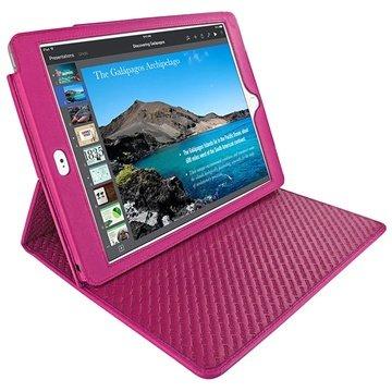 iPad Air 2 Piel Frama Cinema L?rveske - Fuchsia
