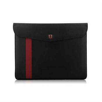 Swiss Leatherware Diplomat Veske - iPad, iPad 2, iPad 3, iPad 4, Motorola XOOM - Svart
