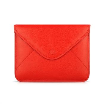 iPad 2, iPad 3, iPad 4 Beyzacases Thinvelope Lærveske - Rød