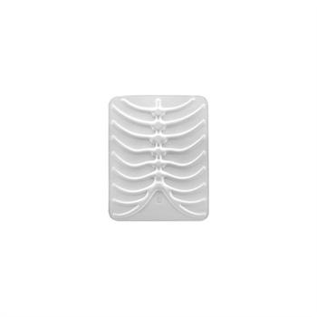 iPad / iPad 2 / iPad 3 / iPad 4 SwitchEasy RibCage Veske - Hvit