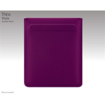 iPad / iPad 2 / iPad 3 SwitchEasy Thins Veske - Lilla