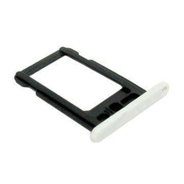 iPhone 5C SIM-kort Skuffe - Hvit
