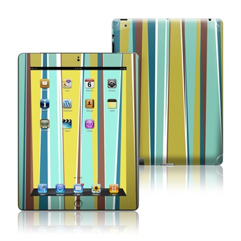 iPad 3, iPad 4 Sea Stripes Skin