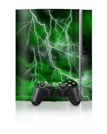 Sony PlayStation 3 Skin - Apocalypse Grønn