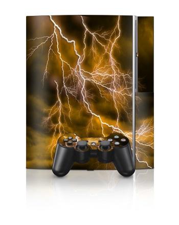 Sony PlayStation 3 Skin - Apocalypse Orange