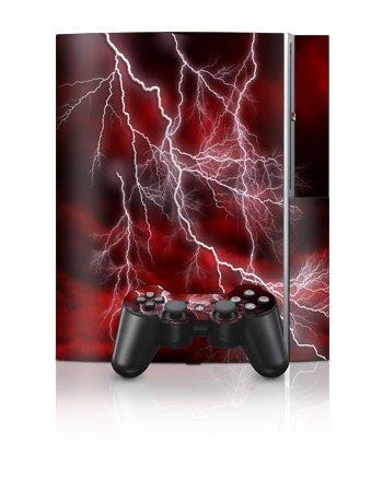 Sony PlayStation 3 Skin - Apocalypse Rød