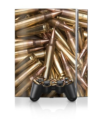 Sony PlayStation 3 Skin - Bullets