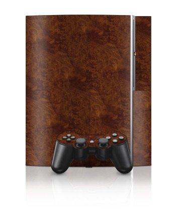 Sony PlayStation 3 Skin - Dark Burlwood