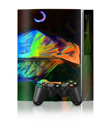 Sony PlayStation 3 Skin - Dancing Moon