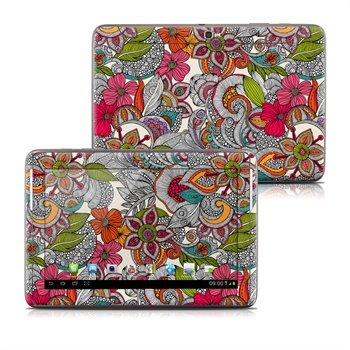 Samsung Galaxy Note 10.1 N8000, N8010 Doodles Color Skin
