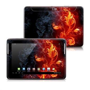 Samsung Galaxy Note 10.1 N8000, N8010 Flower Of Fire Skin
