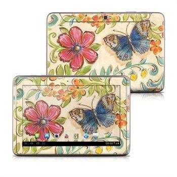 Samsung Galaxy Note 10.1 N8000, N8010 Garden Scroll Skin